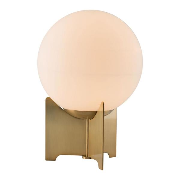 Pearl 14.4 in. White Table Lamp