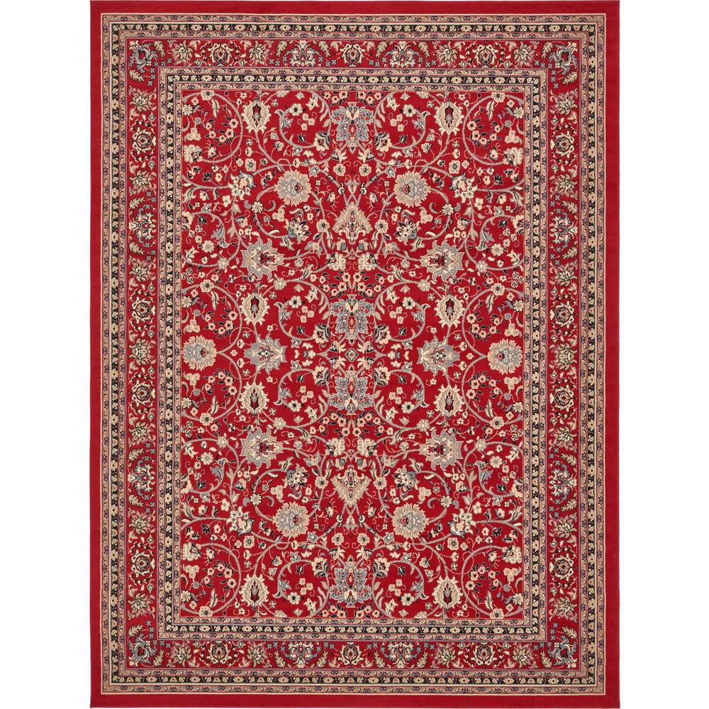 Red And Turquoise Rug Area Sophisticated Awesome Rugs In: Unique Loom Kashan Red 9 Ft. X 12 Ft. Area Rug-3134501