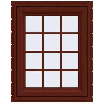 V-4500 Series Vinyl Awning Window with Grids