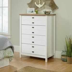 Cottage Road 4-Drawer Soft White Chest