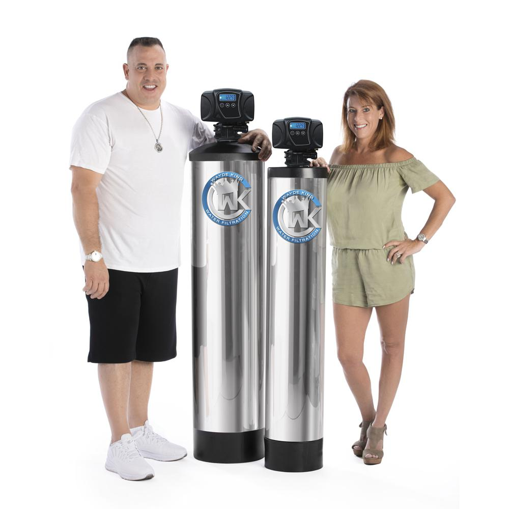 WAYDE KING WATER FILTRATION 20 GPM Whole Home Alkaline Water Filter with Built-In Anti-Scale Magnetic Ionizer
