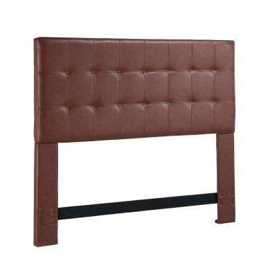 Andez Vintage Faux Leather California King and Eastern King Headboard