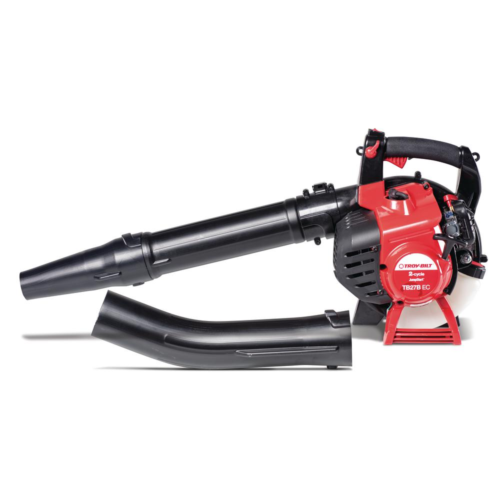 Troy-Bilt 150 MPH 450 CFM 27 cc Gas 2-Cycle Handheld Leaf Blower with JumpStart Capabilities