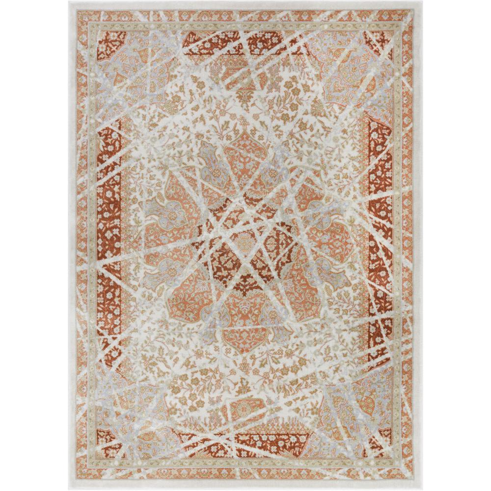 Well Woven Hughes Marco 8 ft. x 11 ft. Traditional Vintage ...