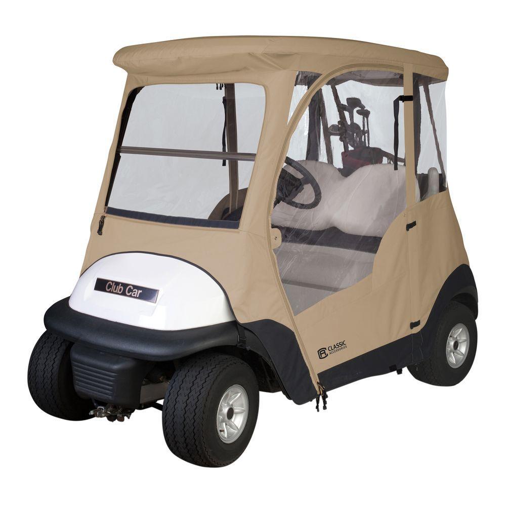 Clic Accessories Club Car Precedent Golf Car Enclosure-40-011 ... on yamaha golf cart logo, cushman golf cart logo, columbia golf cart logo, star golf cart logo, bad boy golf carts logo, hyundai golf cart logo, jacobson golf cart logo,