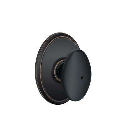 Wakefield Siena Aged Bronze Privacy Bed and Bath Knob