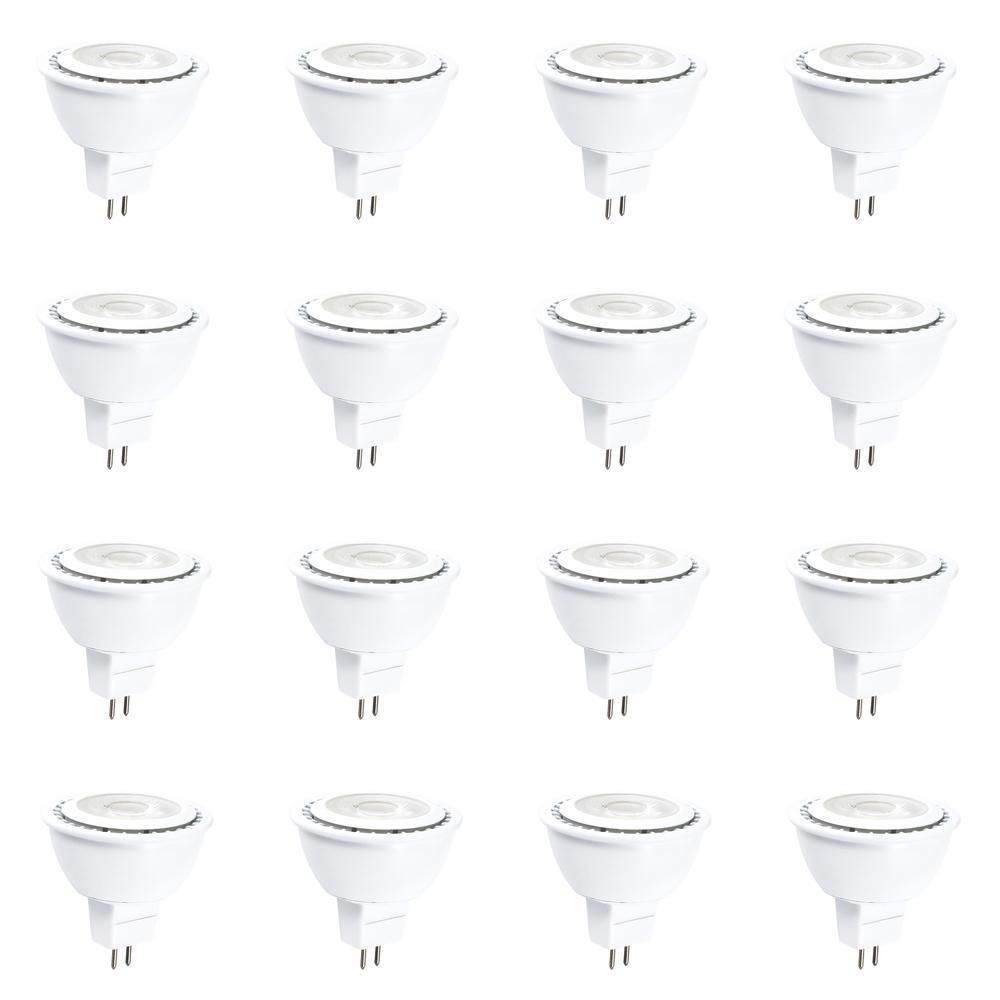 50-Watt Equivalent (4000k) MR16 LED Light Bulb Cool White (12-Pack)