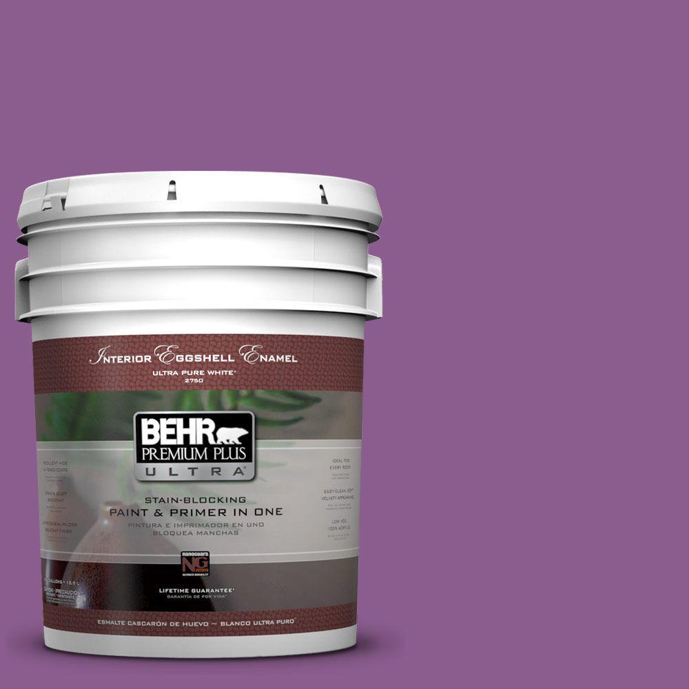 BEHR Premium Plus Ultra 5-gal. #P100-6 Chakra Eggshell Enamel Interior Paint