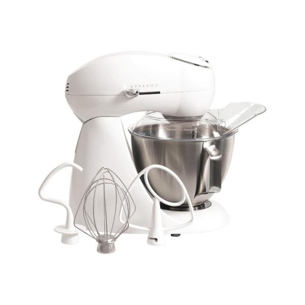 Hamilton Beach Eclectrics 4.5 Qt. 12-Speed Sterling All-Metal Stand Mixer