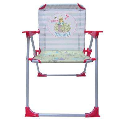 Beatrix Potter Folding Plastic and Aluminum Outdoor Lawn Chair