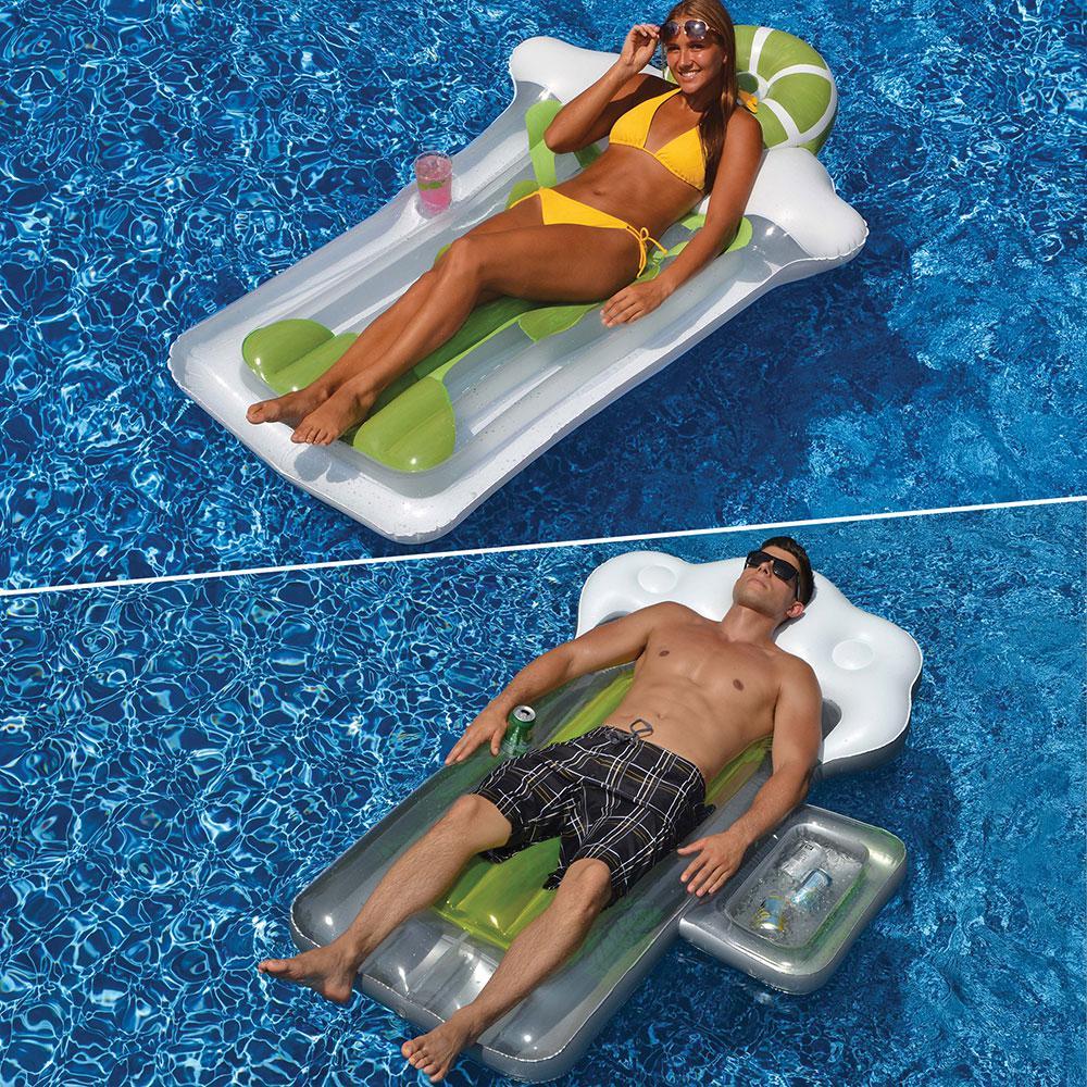 Beer Mug and Margarita Swimming Pool Float Combo (2-Pack)