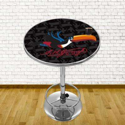 Guinness Toucan Chrome Pub/Bar Table