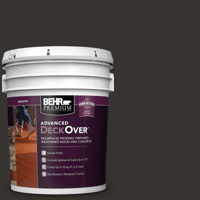 5 gal. #SC-102 Slate Smooth Solid Color Exterior Wood and Concrete Coating