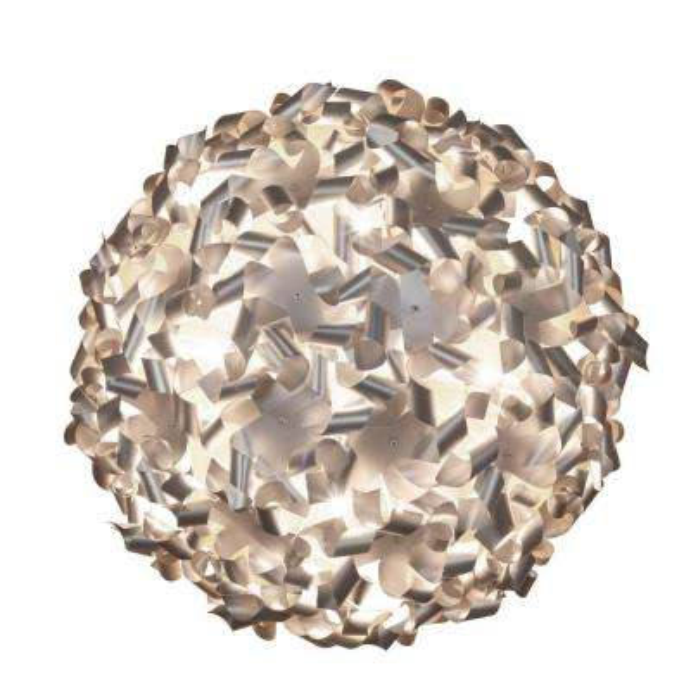 Pinwheel 8-Light Aluminum Ceiling and Wall Flushmount