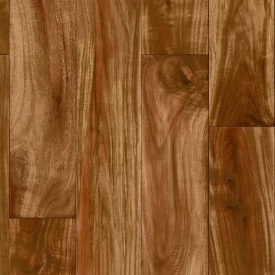 Pro Basic Redwood Acacia Wood Residential Vinyl Sheet Flooring 12ft. Wide x Cut to Length