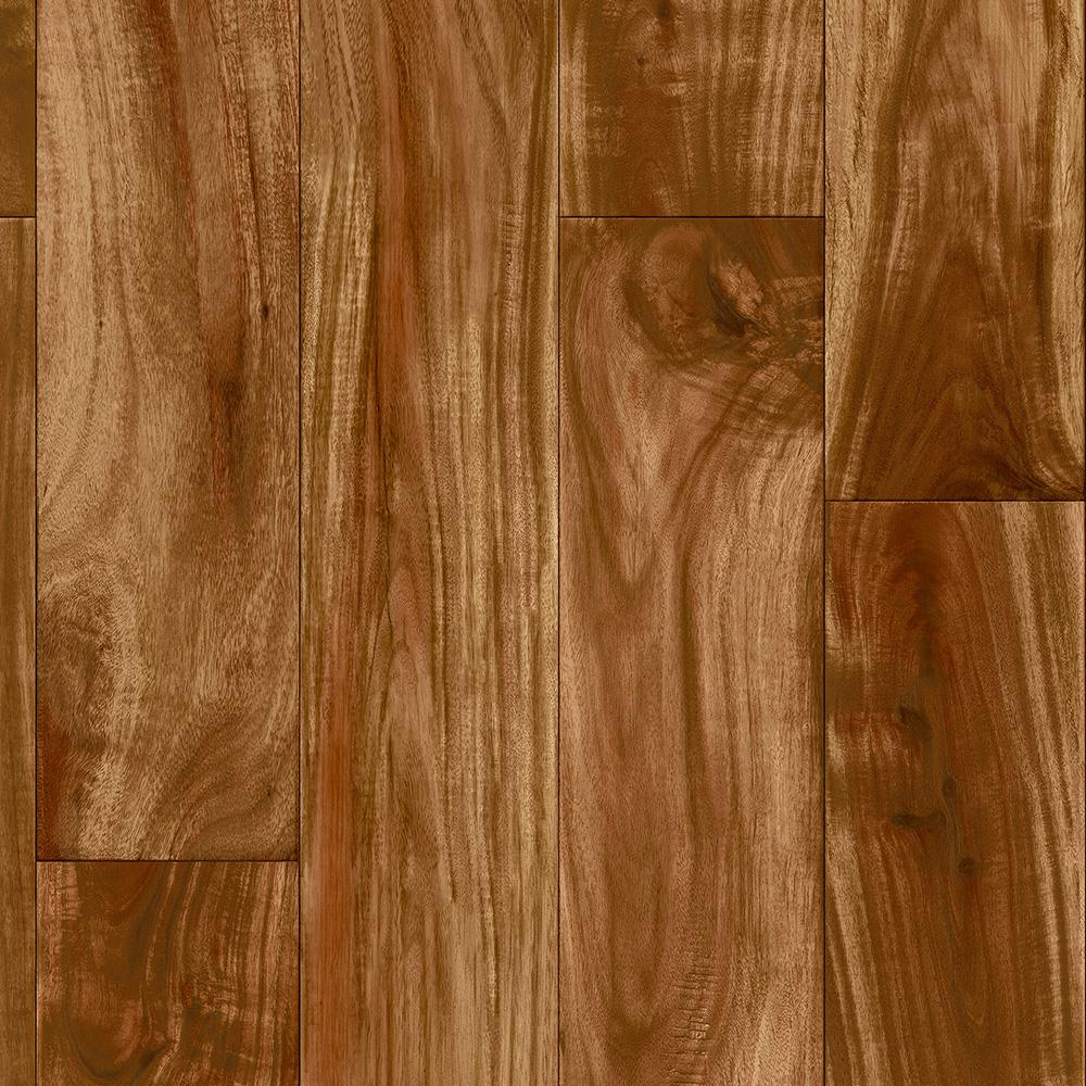 Redwood Acacia 12 Ft Wide X Your Choice Length Residential Vinyl Sheet