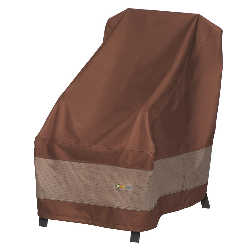 Duck Covers Ultimate 28 In W X 35 D H High Back Patio Chair Cover