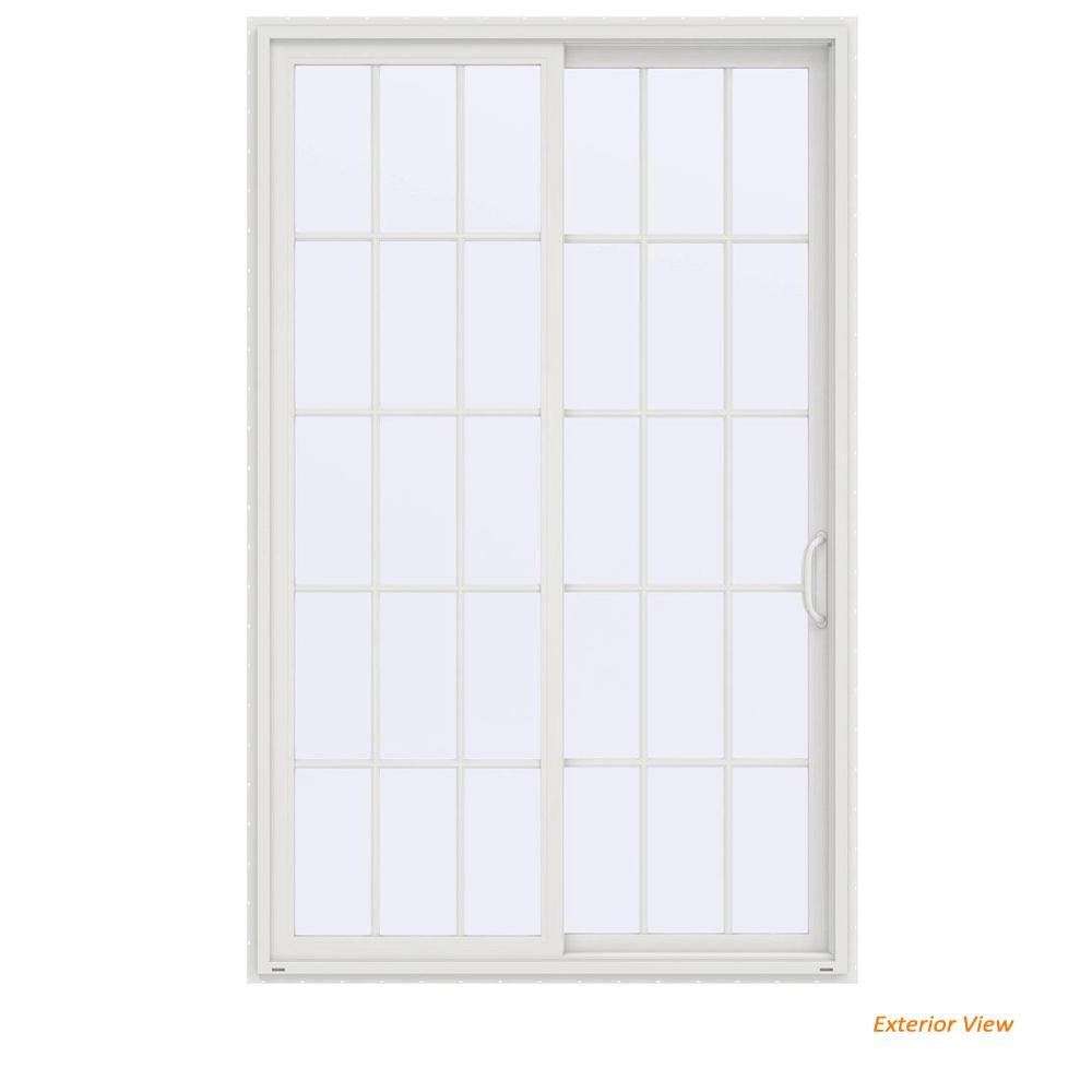 60 X 96 Sliding Patio Door Patio Doors Exterior Doors The