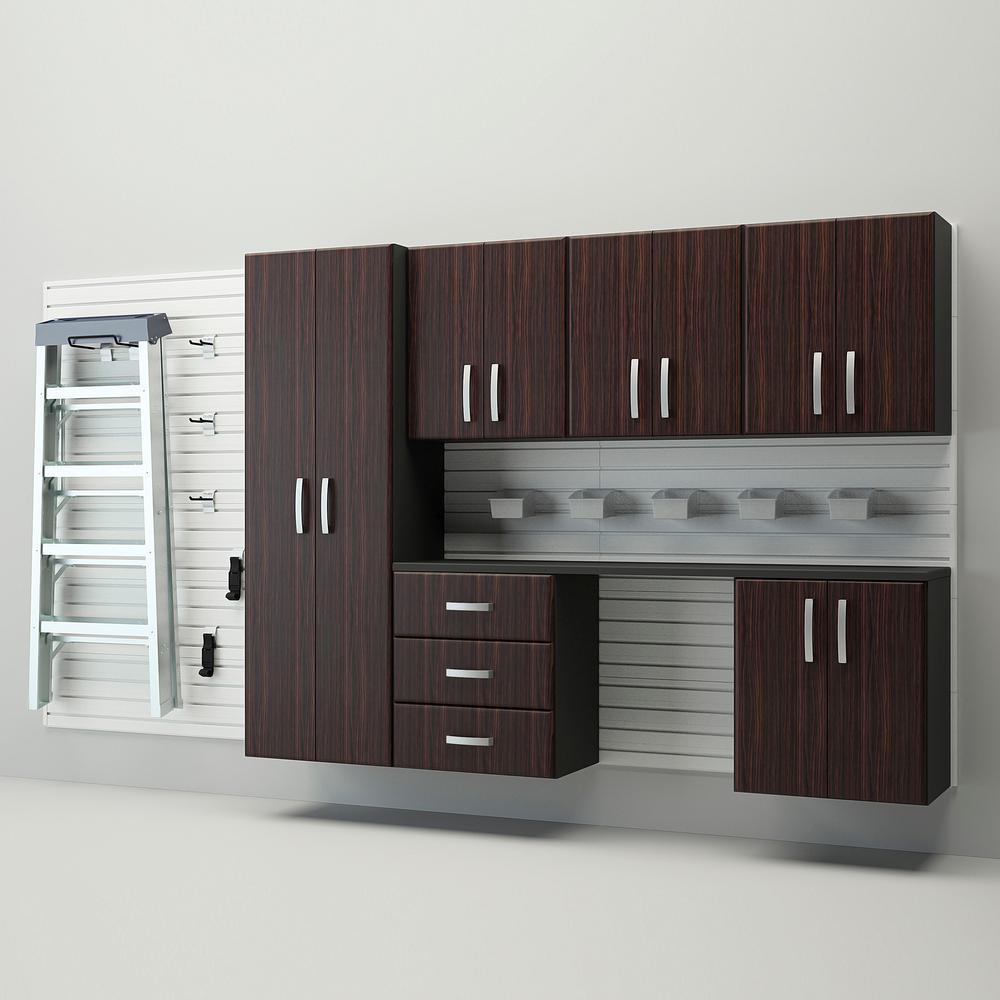 Desk Cupboard Organization