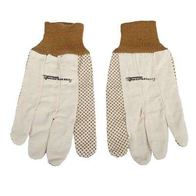 Cotton Canvas Gloves (Size L)