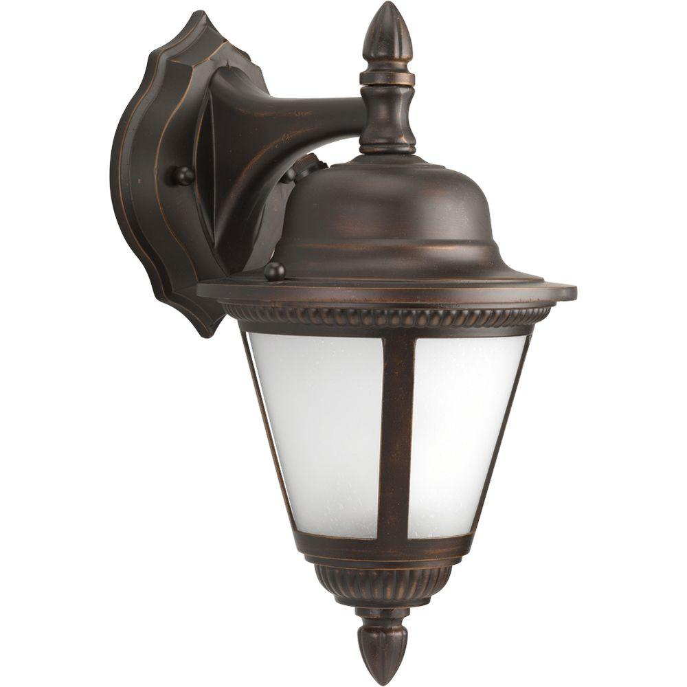 Progress Lighting Westport Collection Antique Bronze 1-light Wall Lantern-DISCONTINUED