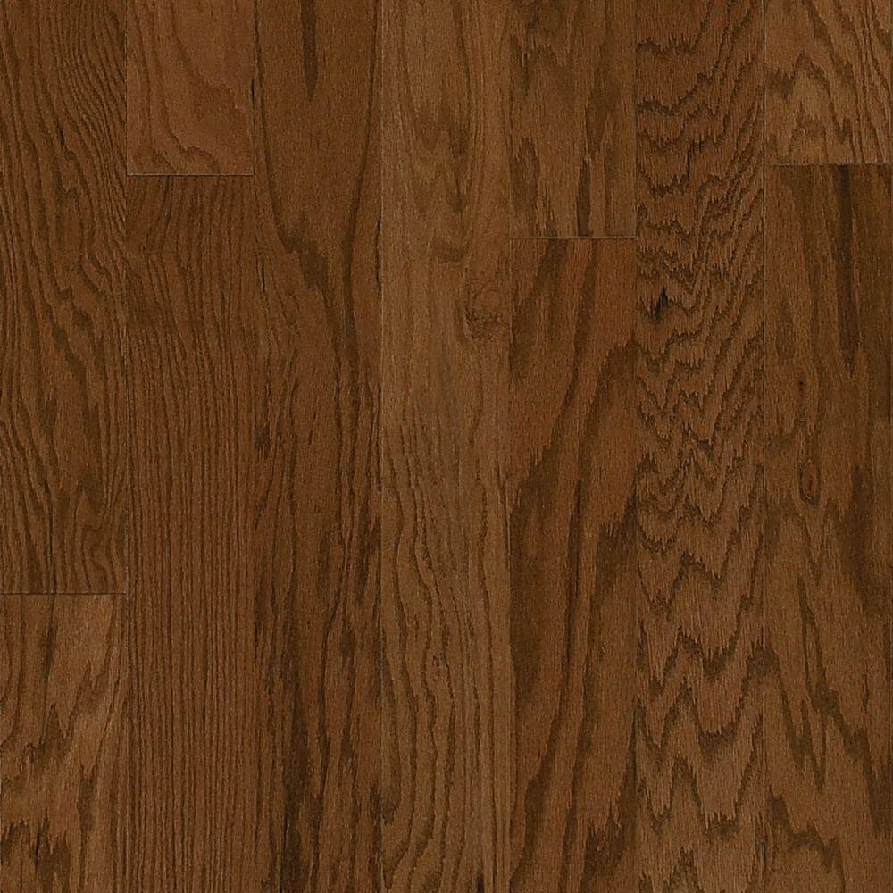 Millstead Oak Mink 3/4 in. Thick x 4 in. Width x Random Length Solid Real Hardwood Flooring (21 sq. ft. / case)