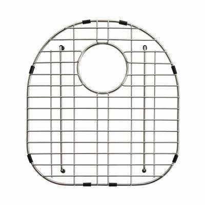 Stainless Steel Bottom Grid for KBU23 Left Bowl 32in. Kitchen Sink, 15 3/4in. x 16 3/4in. x 1 1/4in.