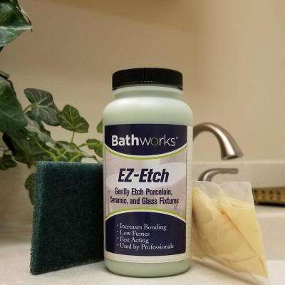 16 oz. EZ Etch Porcelain, Ceramic, and Glass Etching Paste Kit