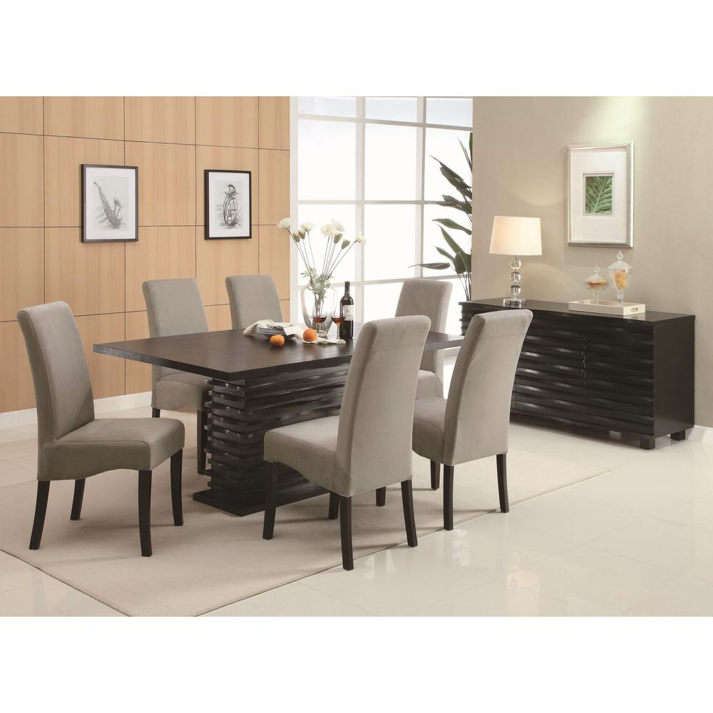 Coaster STANTON Collection Gray Dining Chair (Set Of 2)