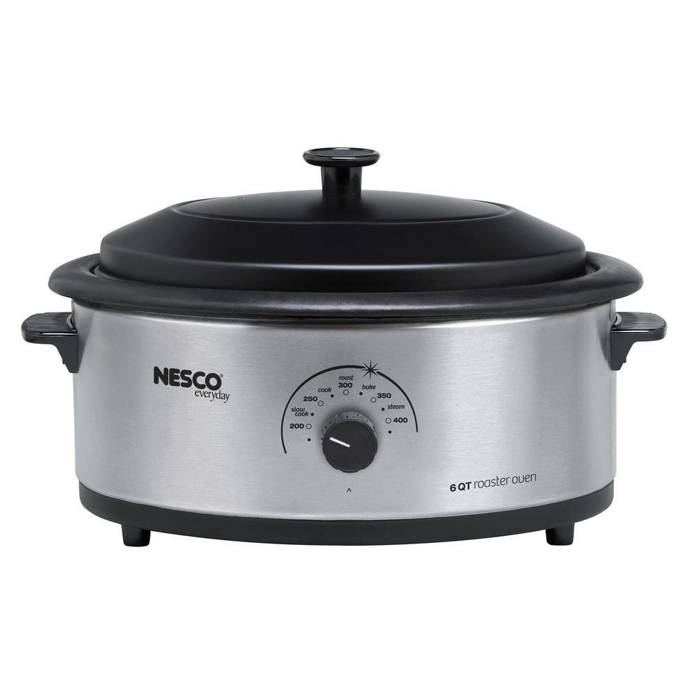 Nesco 6 Qt. Roaster Oven, Stainless