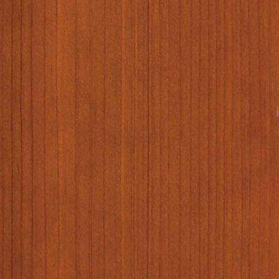 4 in. x 3 in. Wood Garage Door Sample in Redwood with Cedar 077 Stain