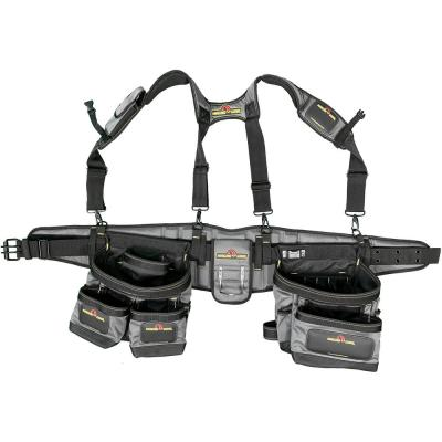 37-Pocket Pro Tool Suspension Rig with Integrated Back Support