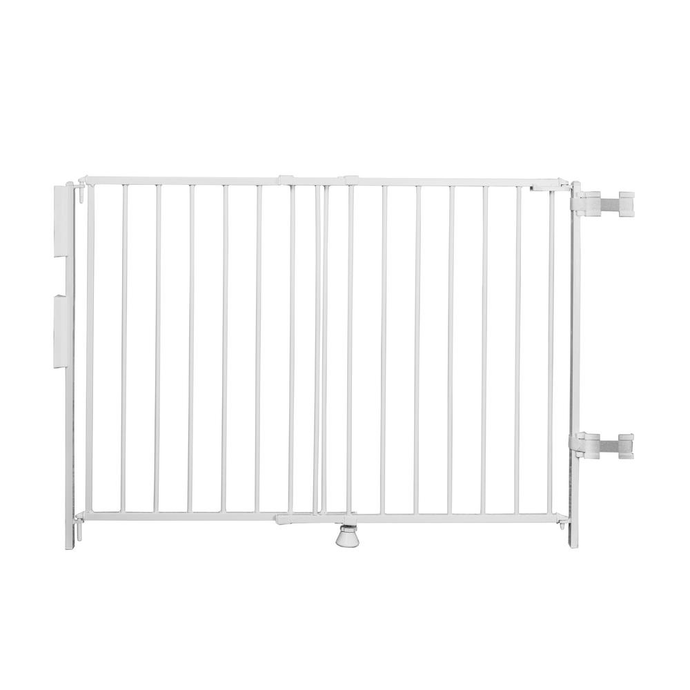 Regalo 35 Quot Extra Tall Top Of Stairs Metal Safety Gate 1235