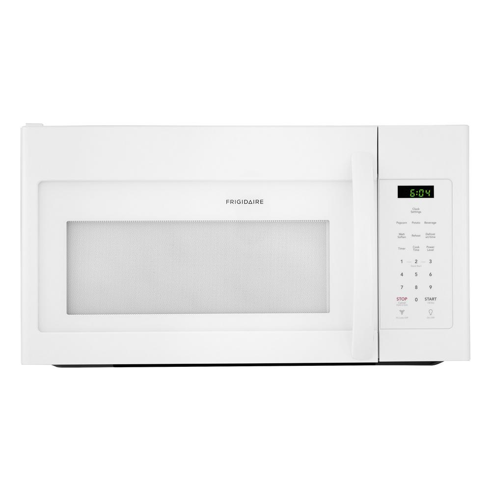 Frigidaire 30 In 1 6 Cu Ft Over The Range Microwave White