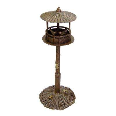 Romance Bird House Antique Bronze