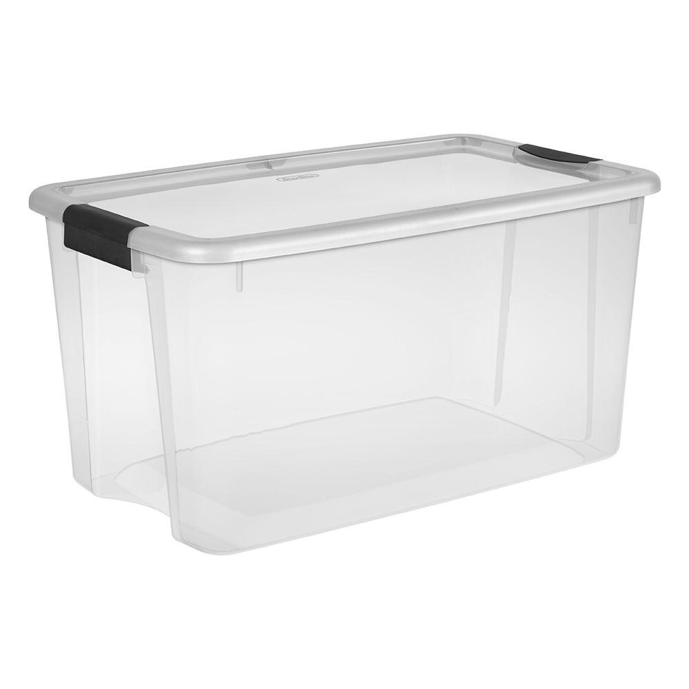 Sterilite 70 Qt Ultra Storage Box 19888604 The Home Depot