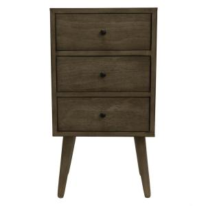 Mid Century Modern Resotration Gray Side Table