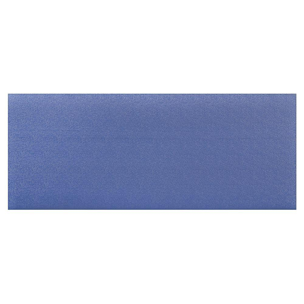 HomeTrax Designs Kitchen Comfort Blue 20 In. X 36 In