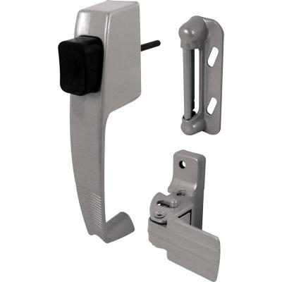Wright Products 1-3/4 in  Black Push-Button Keyed Screen and