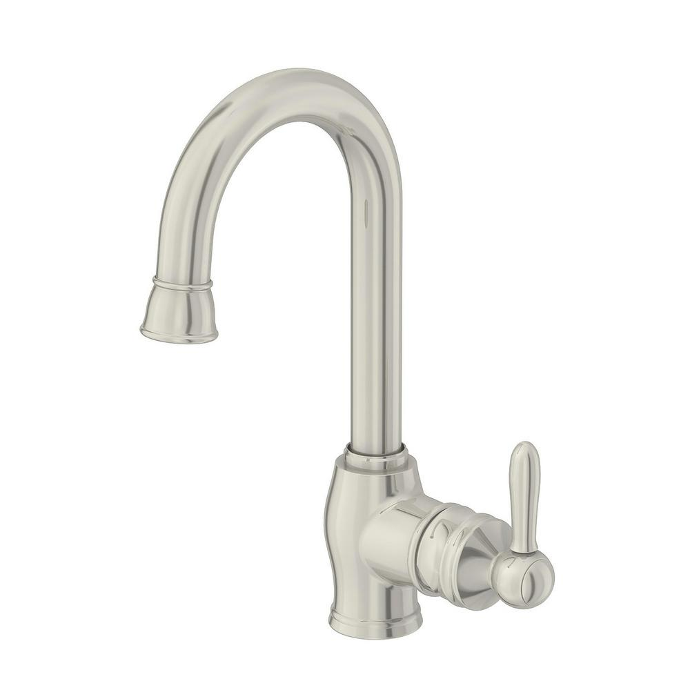 Glacier Bay Newbury Single-Handle Bar Faucet in Stainless Steel ...