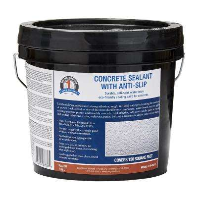 128 oz. Concrete Sealant with Traction