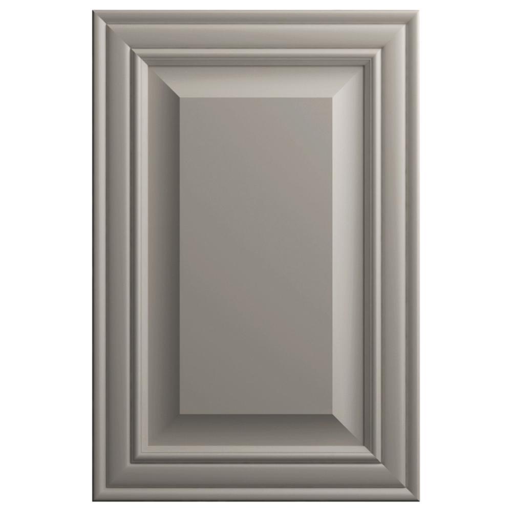 11x15 in. Gilead Cabinet Door Sample in Stone Gray