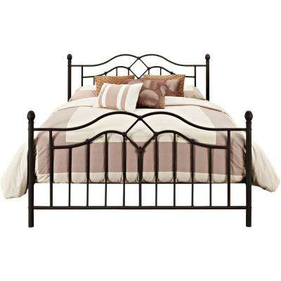 Tatiana Bronze Queen Bed Frame
