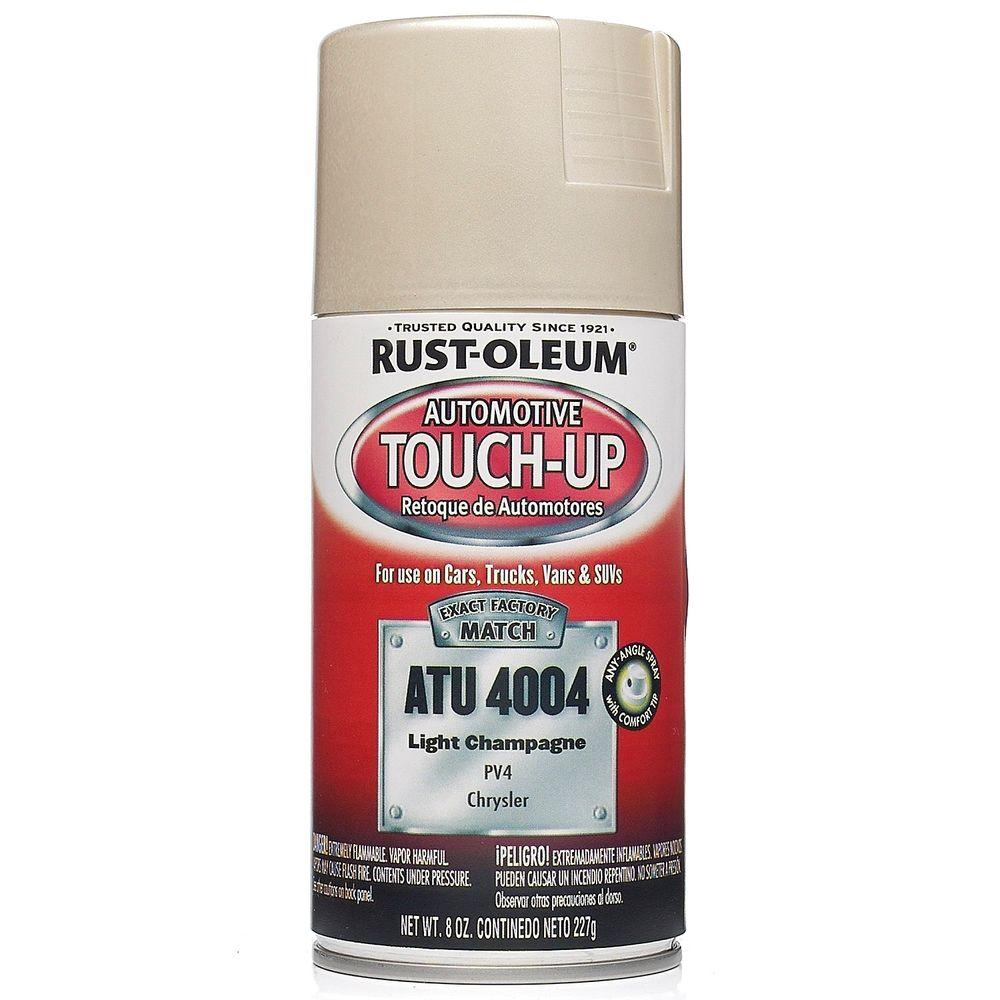 Rust-Oleum Automotive 8 oz. Light Champagne Auto Touch-Up Spray (6-Pack)