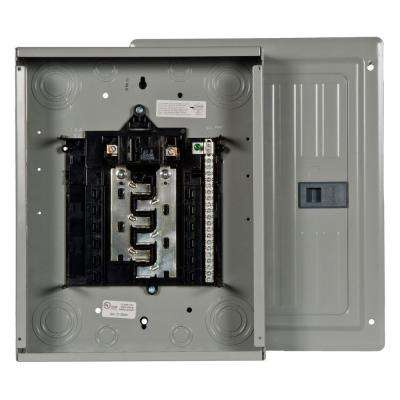 ES Series 100 Amp 12-Space 24-Circuit Main Breaker Indoor Load Center
