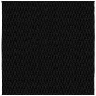 Medallion Black 12 ft. x 12 ft. Square Area Rug