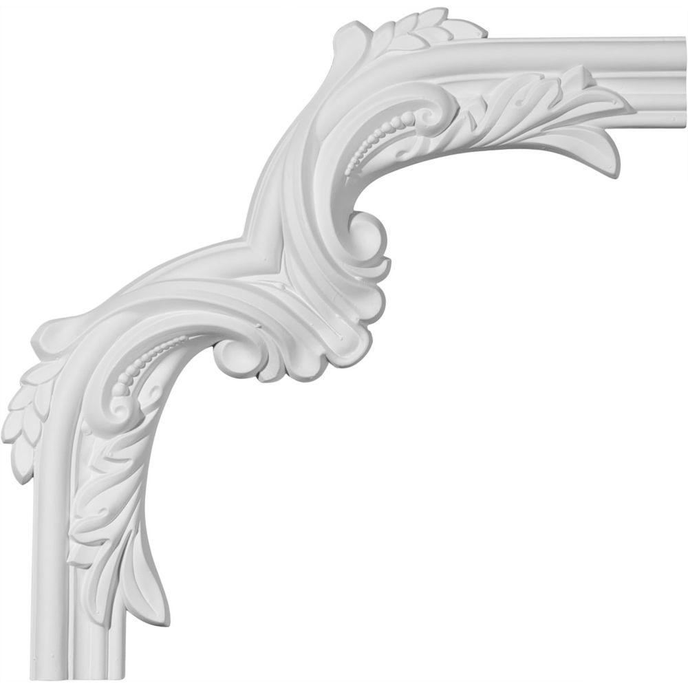 12-1/2 in. x 3/4 in. x 12-1/2 in. Claremont Panel Moulding
