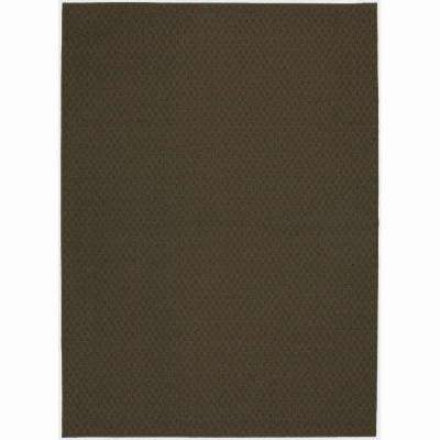 Town Square Chocolate 7 ft. 6 in. x 9 ft. 6 in. Area Rug