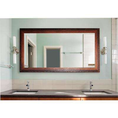 72 in. x 39 in. Timber Estate Double Vanity Wall Mirror