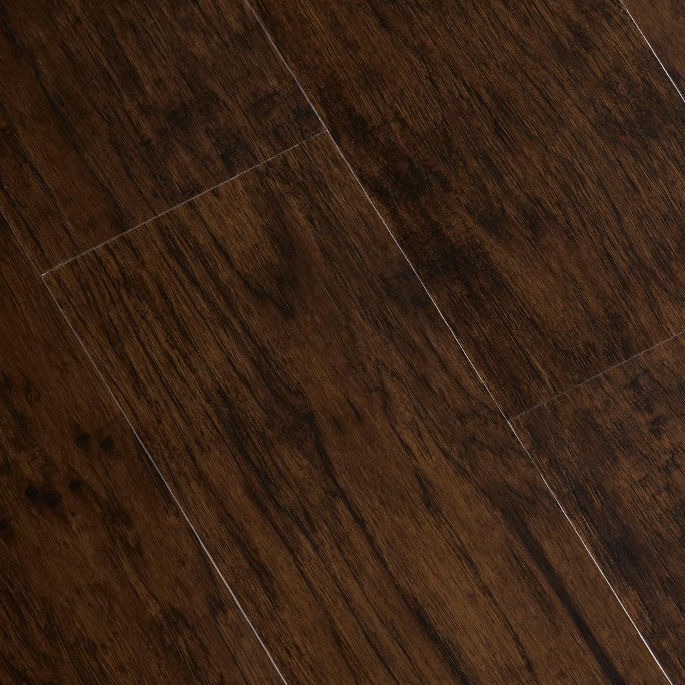 Home Legend Hand Scraped Tavern Hickory 6 mm x 7-1/16 in. Width x 48 in. Length Vinyl Plank Flooring (23.64 sq.ft./case)